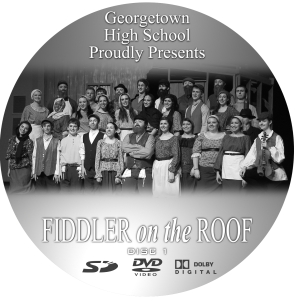 GHS a Fiddler on the Roof 2013 DVD Cover