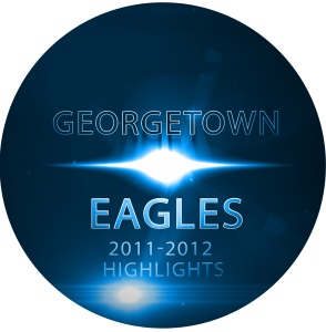 Georgetown Eagles Mens Basketball Highlights 2011-2012 DVD