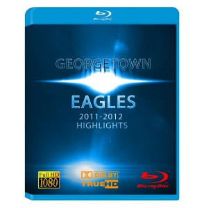 Georgetown Eagles Mens Basketball Highlight Reel 2011-2012 Blu Ray Box