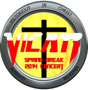 VICAR Spring Break Concert 2014 DVD Cover