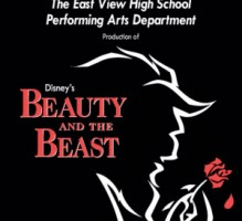 EVHS Beauty and the Beast 2015 DVD