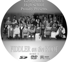 GHS Fiddler on the Roof 2013 Archive Copy Deluxe DVD Set