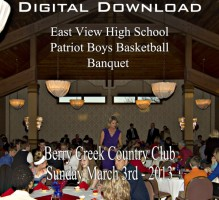 EVHS Patriot Boys Basketball Banquet 2013 Digital Download