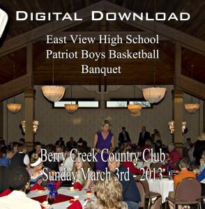 EVHS Boys Basketball Banquet 2013 Digital Download