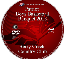 EVHS Patriot Boys Basketball Banquet 2013 DVD
