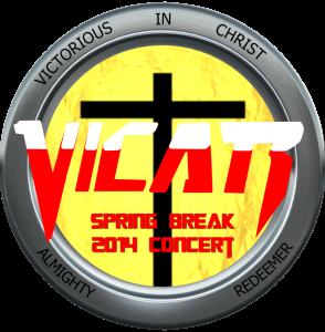 VICAR Spring Break Concert 2014 DVD Cover